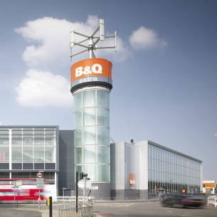 B&Q store in New Malden SM