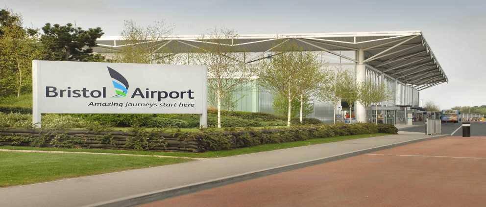 Bristol Airport - terminal - new brand Banner