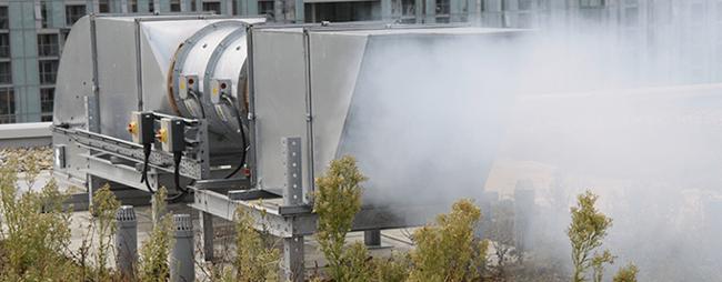 Mechanical Smoke Ventilation Shaft